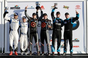 Podium: #65 Murillo Racing Mercedes-AMG, GS: Tim Probert, Brent Mosing, Justin Piscitell, #75 Compass Racing McLaren GT4, GS, Paul Holton, Kuno Wittmer, #99 Automatic Racing Aston Martin Vantage GT4, GS: Gary Ferrera, Kris Wilson