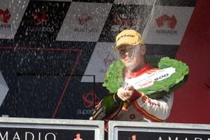 Podyum: Yarış galibi Scott McLaughlin, DJR Team Penske