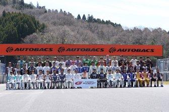 GT300ドライバー集合写真