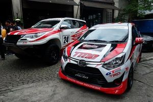 Mobil balap Toyota Team Indonesia