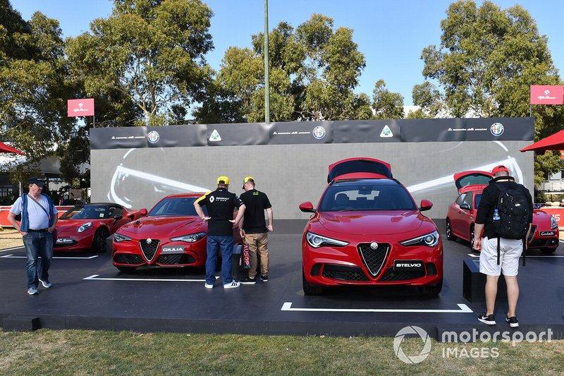 Alfa Romeo in Albert Park