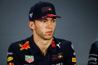 Pierre Gasly, Red Bull Racing, en conférence de presse