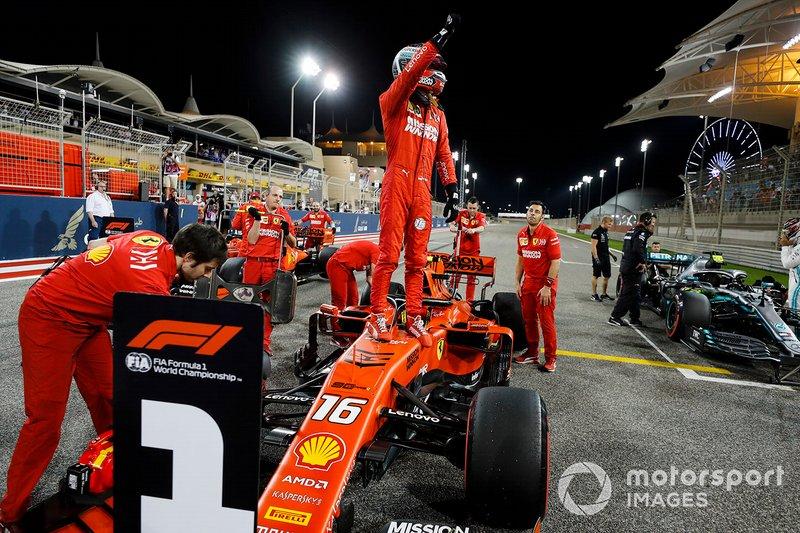 Charles Leclerc (Ferrari): 21 años, 5 meses y 15 días