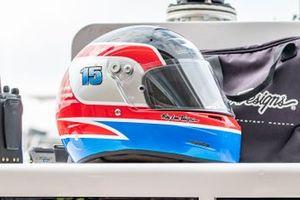 Helmet of Graham Rahal, Rahal Letterman Lanigan Racing Honda