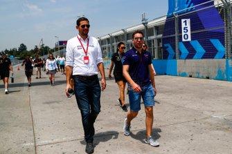 Robin Frijns, Envision Virgin Racing on the track walk