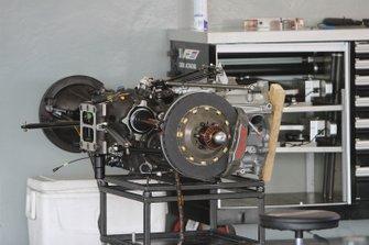 Cadillac DPi Transmission and rear suspension