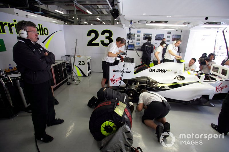 Ross Brawn, Director del equipo, Brawn GP