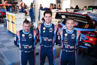 Daniel Elena, Nicolas Gilsoul, Anders Jaeger, Hyundai Motorsport