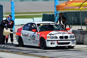 #169 MP2B BMW M3 driven by Andor Kovacs & Peter London of TLM USA