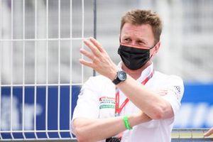 Allan McNish, team principal d'Audi Sport Abt Schaeffler