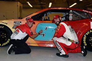 Chase Elliott, Hendrick Motorsports, Chevrolet Camaro LLumar y Alan Gustafson