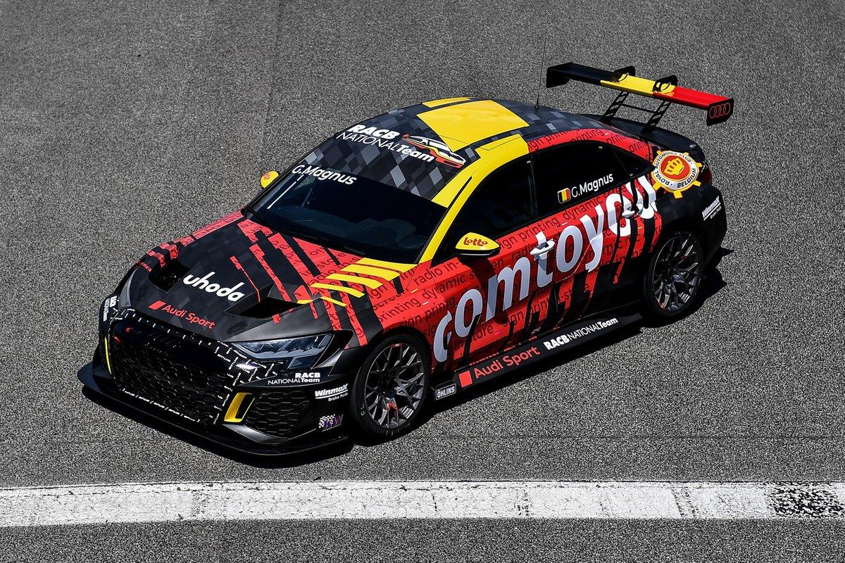 Gilles Magnus, Comtoyou Team Audi Sport, Audi RS 3 LMS TCR
