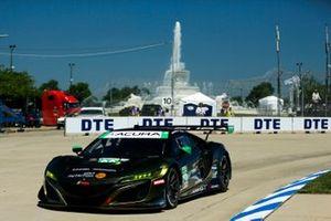 #66 Gradient Racing Acura NSX GT3, GTD: Marc Miller