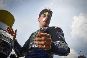 Segundo lugar Maverick Viñales, Yamaha Factory Racing