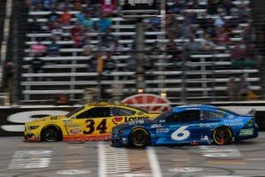 Michael McDowell, Front Row Motorsports, Ford Mustang Love's Travel Stops, Ryan Newman, Roush Fenway Racing, Ford Mustang Wyndham Rewards