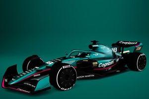 Aston Martin 2022 F1 car