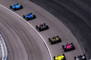 IndyCar-Action auf dem Texas Motor Speedway in Fort Worth