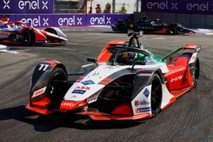 Lucas Di Grassi, Audi Sport ABT Schaeffler, Audi e-tron FE07, Oliver Rowland, Nissan e.Dams, Nissan IMO2, Alex Lynn, Mahindra Racing, M7Electro
