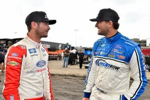 Tanner Gray, Team DGR, Ford F-150 Ford Performance and Todd Gilliland, Front Row Motorsports, Ford F-150 Frontline Enterprises INC.