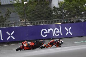 Miguel Oliveira, Red Bull KTM Factory Racing crash