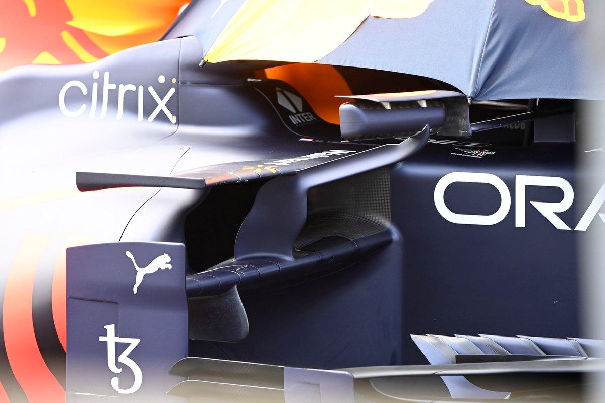 Red Bull RB16B: Seitenkasten