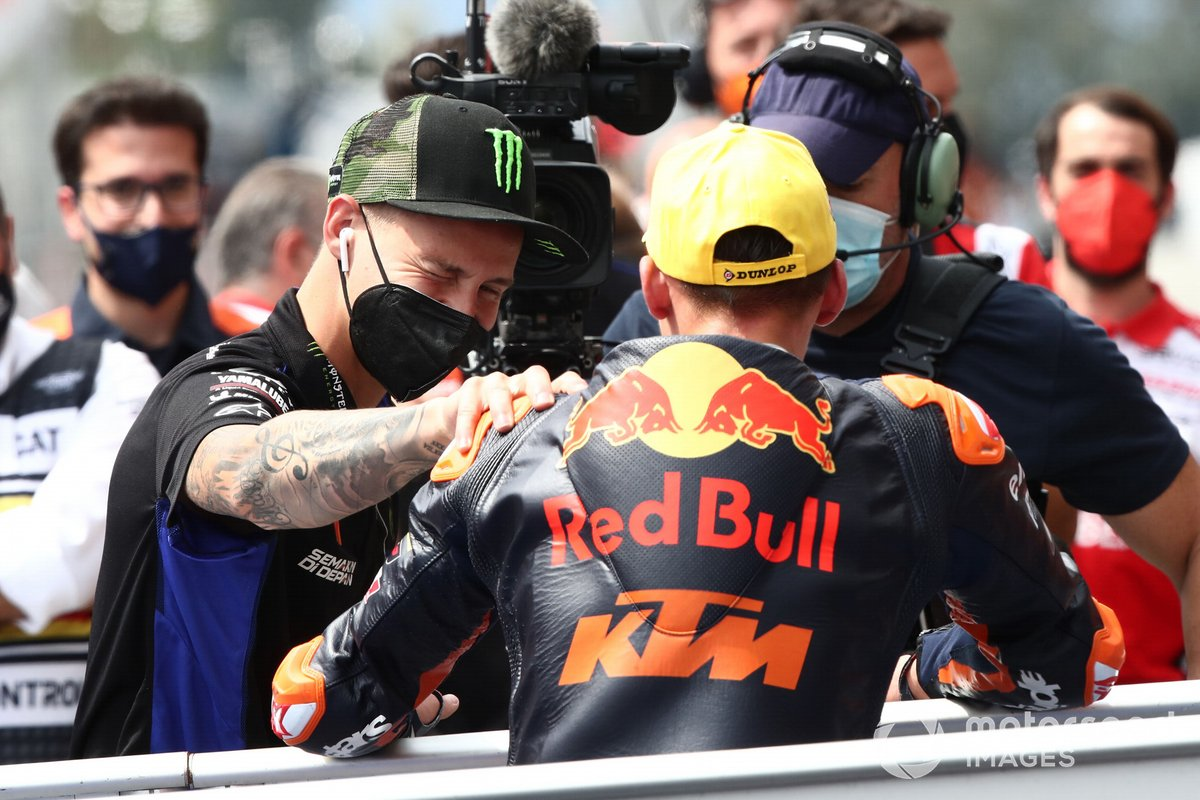 Deniz Oncu, Red Bull KTM Tech 3, Fabio Quartararo, Yamaha Factory Racing