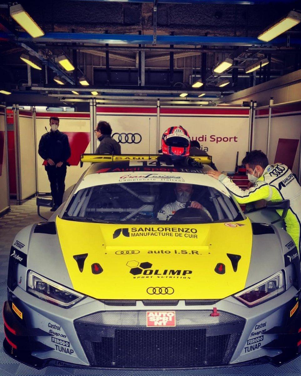 Karol Basz, Audi R8 LMS