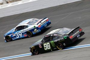 Ryan Sieg, RSS Racing, Ford Mustang CMR Construction and Roofing / A-Game, Riley Herbst, Stewart-Haas Racing, Ford Mustang Monster Energy