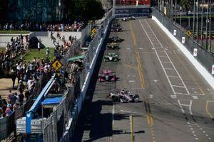 Renn-Action beim IndyCar-Saisonfinale 2020 in St. Petersburg: Will Power, Team Penske Chevrolet, führt
