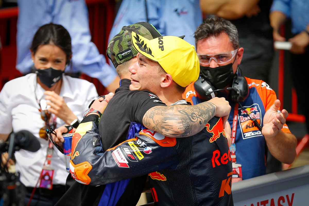 Deniz Onçü, Red Bull KTM Tech3, Fabio Quartararo