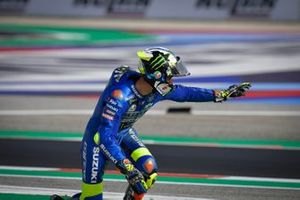 Joan Mir, Team Suzuki MotoGP, caída