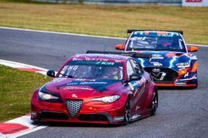 Philipp Eng, Romeo Ferraris-M1RA, Alfa Romeo Giulia ETCR, Tom Chilton, Hyundai Motorsport N, Hyundai Veloster N ETCR