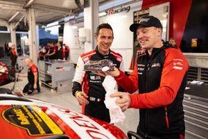 Julien Ingrassia, Toyota Gazoo Racing y Jari-Matti Latvala, Director de Toyota Gazoo Racing