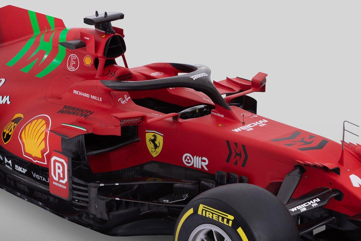 Ferrari SF21 detail