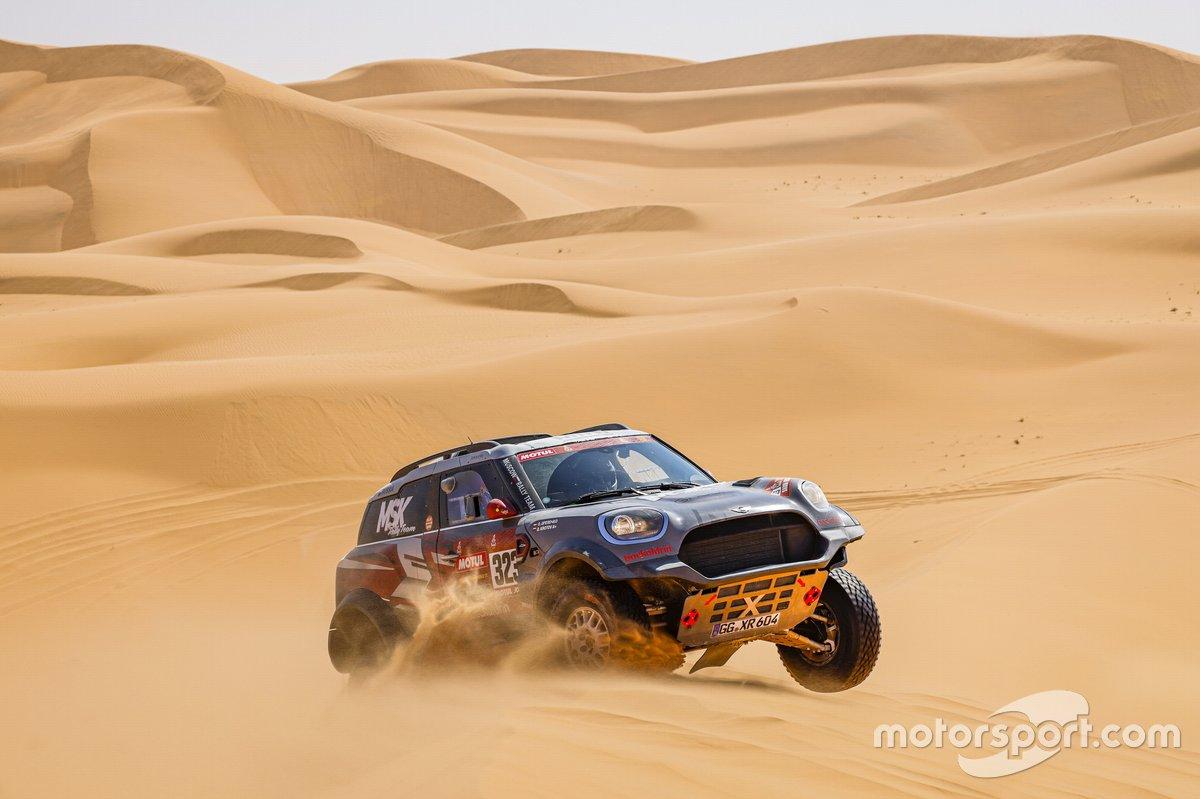 #323 MSK Rally Team Mini: Denis Krotov, Konstantin Zhiltsov