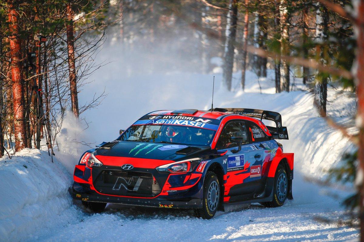 Oliver Solberg, Sebastian Marshall, Hyundai 2C Competition Hyundai I20 Coupé WRC