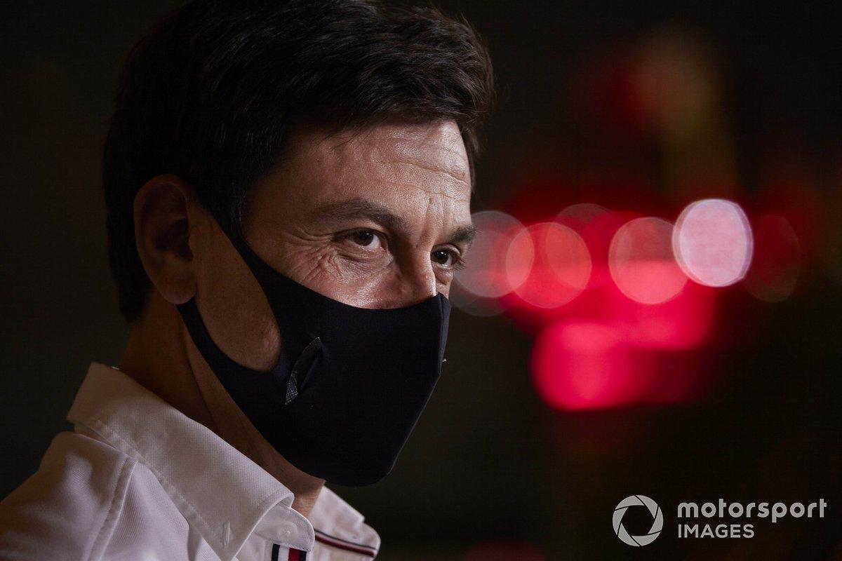 Тото Вольф, руководитель команды и гендиректор, Mercedes AMG