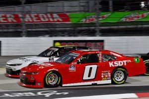 Jeffrey Earnhardt, JD Motorsports, Chevrolet Camaro TeamJDMotorsports.com, A.J. Allmendinger, Kaulig Racing, Chevrolet Camaro Ellsworth Advisors