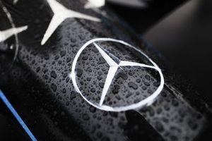 Mercedes badge on the Mercedes Benz EQ, EQ Silver Arrow 02