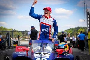 Race winner Alex Palou, Chip Ganassi Racing Honda