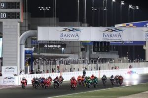 Start zum GP Katar 2021 in Losail