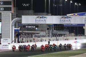 Partenza della gara in Qatar