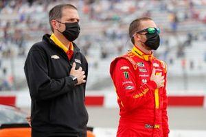 Ross Chastain, Chip Ganassi Racing, mit Brandon McReynolds