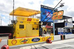 Boxenplatz: Joey Logano, Team Penske