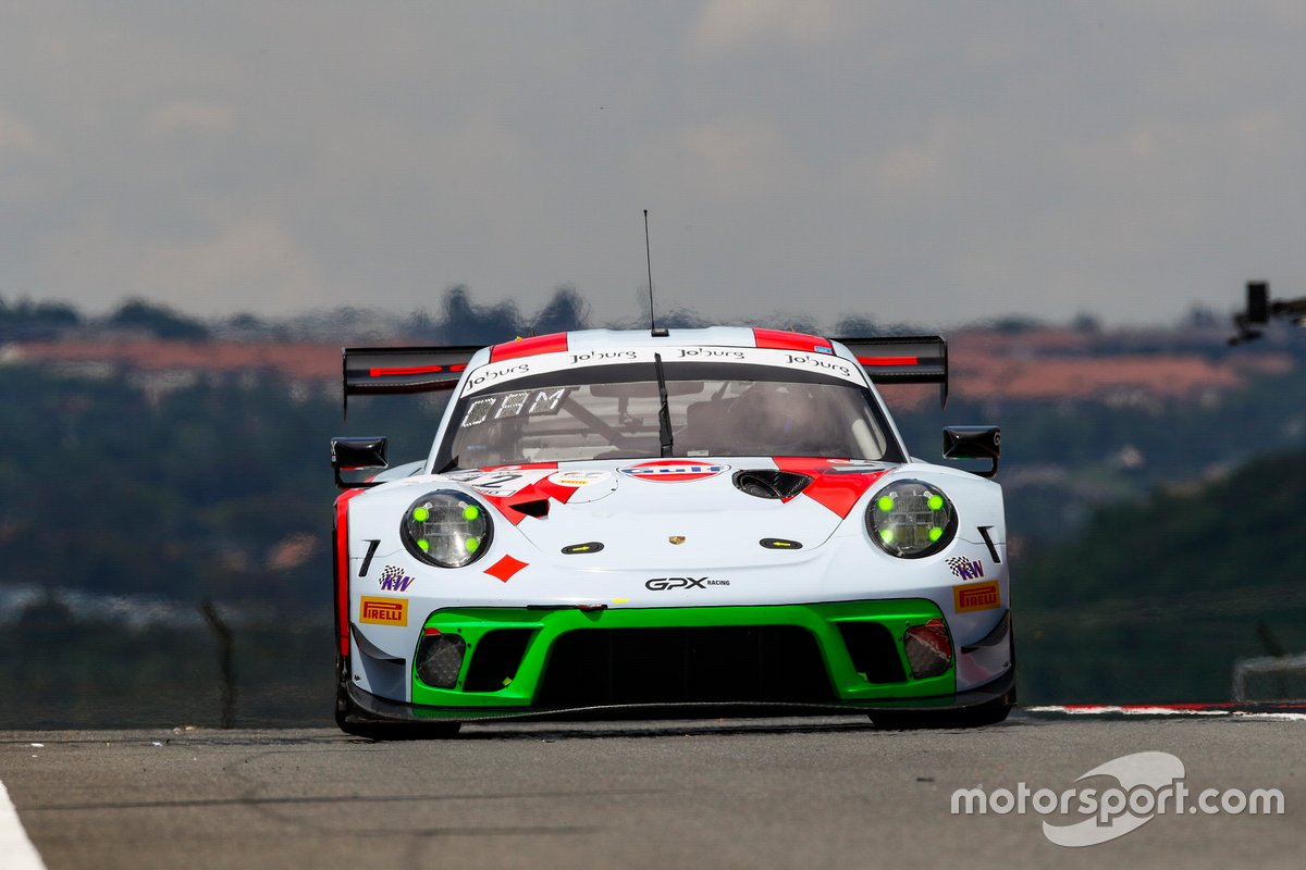 #12 GPX Racing Porsche 911 GT3 R: Matt Campbell, Patrick Pilet, Mathieu Jaminet