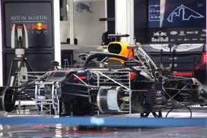 Red Bull Racing RB16 in the garage
