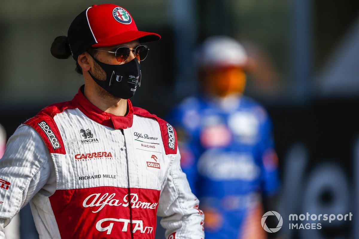 Antonio Giovinazzi (Alfa Romeo): 3 Punkte