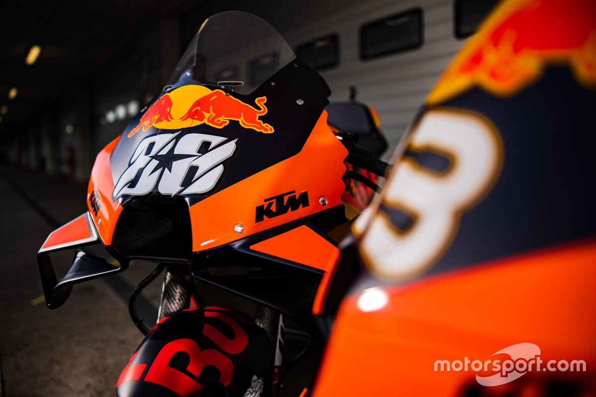 Moto de Miguel Oliveira, Red Bull KTM Factory Racing