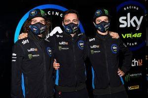 Marco Bezzecchi, Sky Racing Team VR46, Pablo Nieto, Team Manager Sky Racing Team VR46, Celestino Vietti Ramus, Sky Racing Team VR46