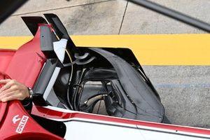 Alfa Romeo Racing C41 barge board detail